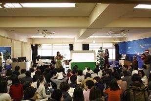 ◇クリスマスコンサート〈12/17(土)14:00~14:45〉